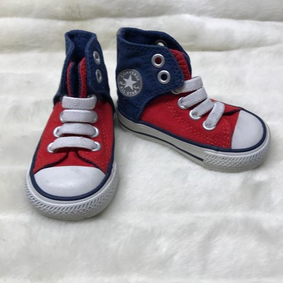 Blue Toddler Converse | Poshmark